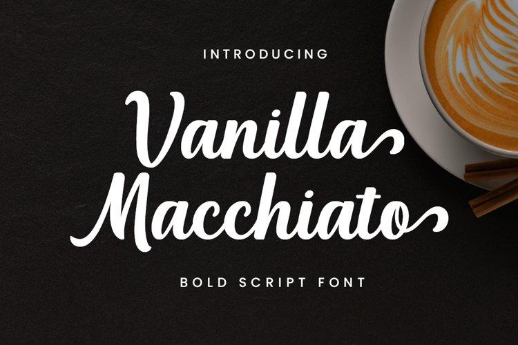 Vanilla Macchiato example image 1