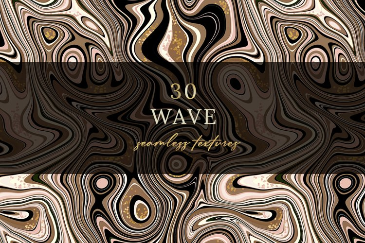 30 Wave Seamless textures. example image 1