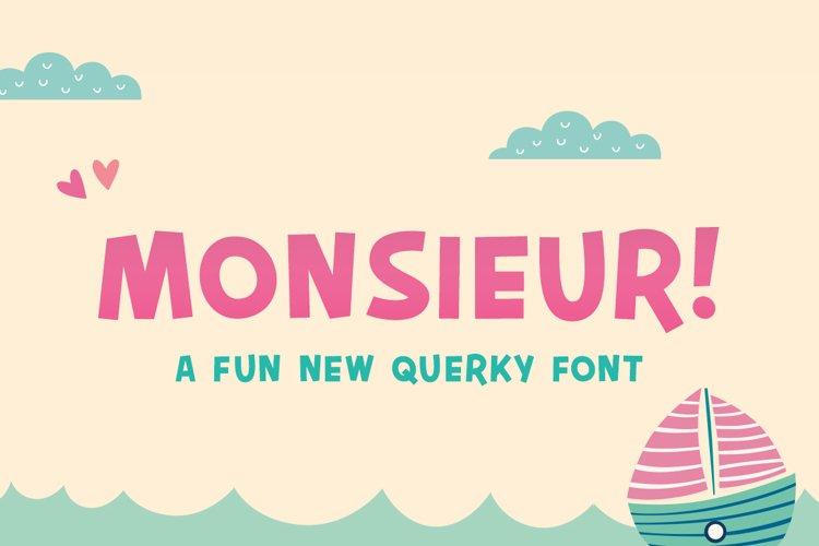 Monsieur Font example image 1
