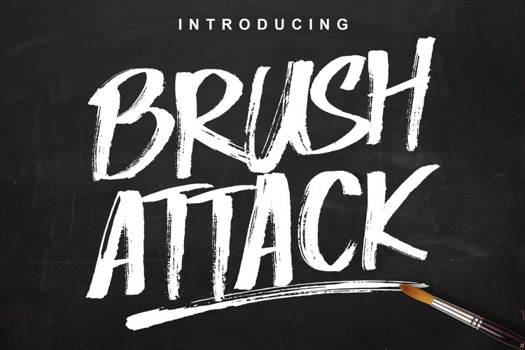 Brush Attack example image 1