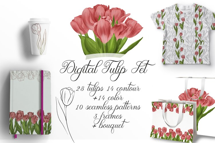 Digital Tulip Set