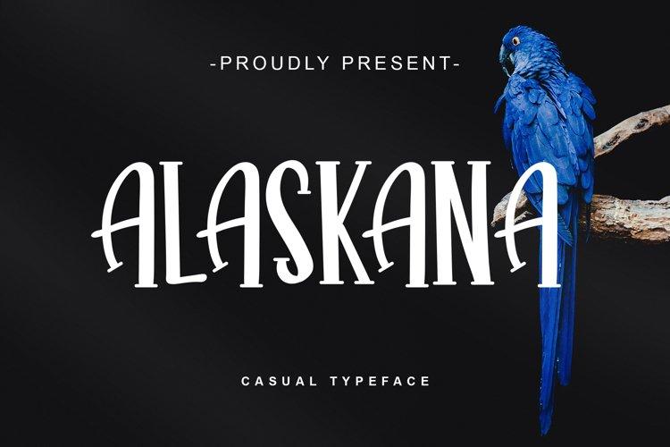 ALASKANA example image 1