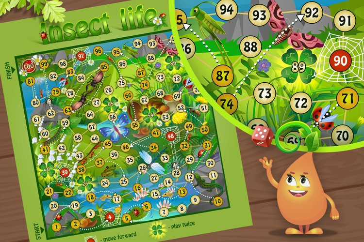 educational board games - insect life example image 1