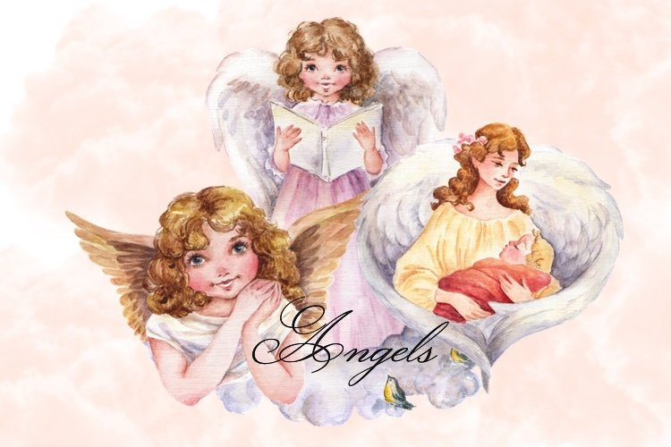 Cute Angels Clipart Images by Whimseez