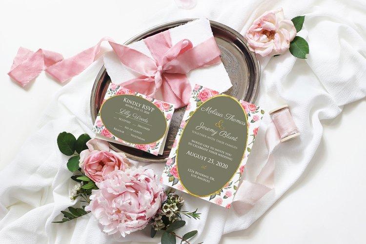 Wedding Invitation Template Printable Bridal Invitation