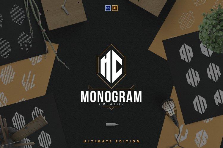 6in1 Ultimate Monogram creator example image 1