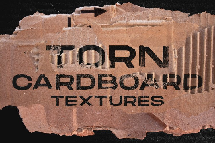 Torn Cardboard textures