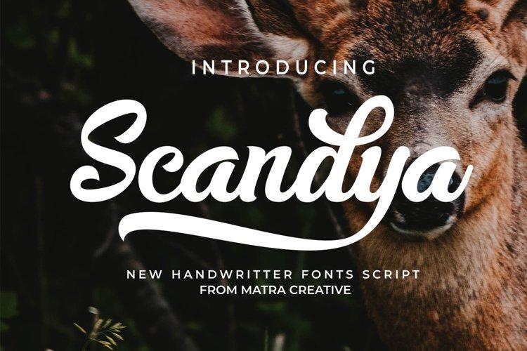 Scandya Script example image 1