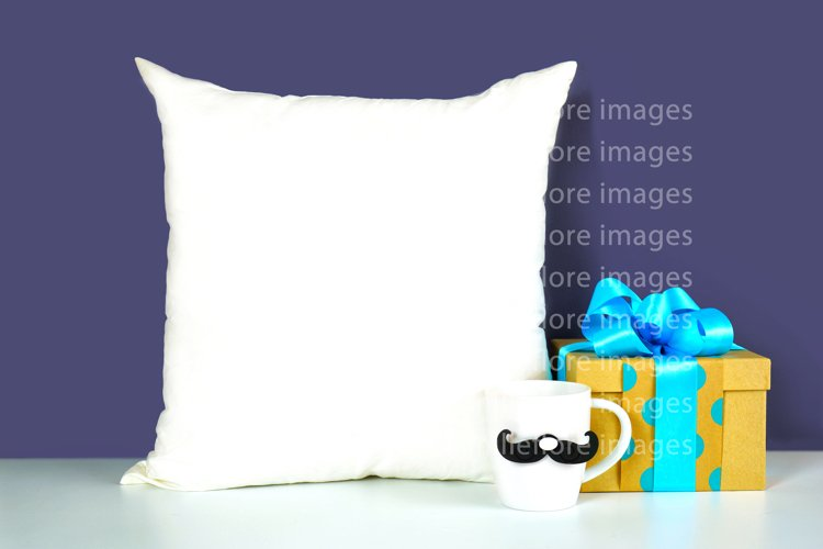 Fathers Day Throw Pillow SVG Craft Mockup JPEG Styled Photo
