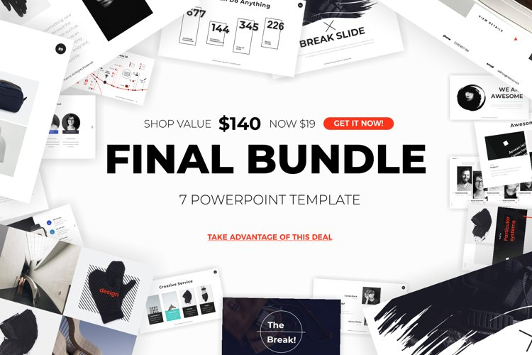 professional powerpoint template bundle