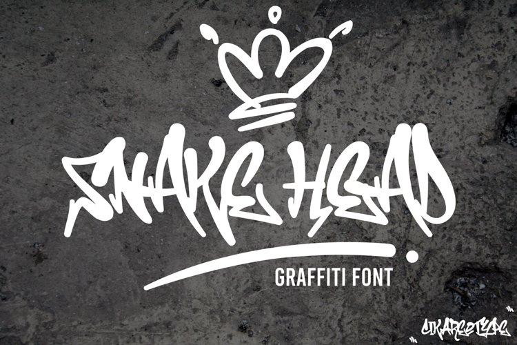 Snake Head Graffiti example image 1