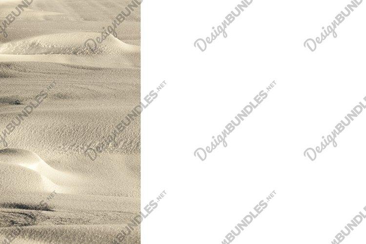 Winter season. Photo - photo with white snow example image 1