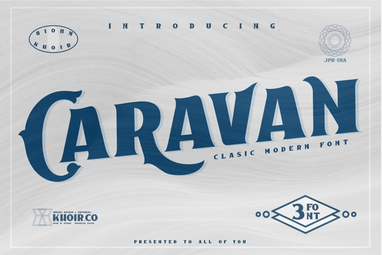 Caravan - Display Font example image 1