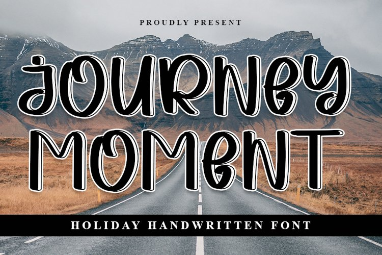 Journey Moment - Holiday Handwritten Font example image 1