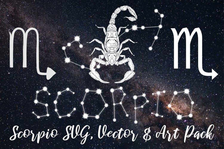 Scorpio Zodiac, Constellation, Horoscope, Celestial Pack