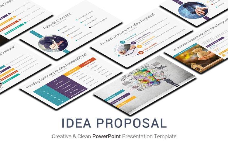Idea Proposal PowerPoint Presentation Template