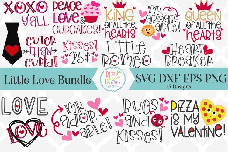 Valentines SVG Bundle - The Little Love SVG Bundle