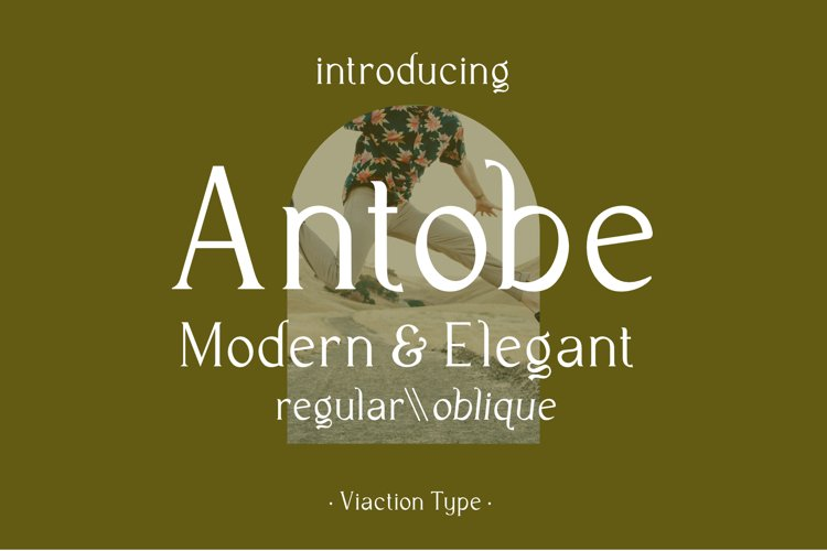 Antobe - Modern Serif