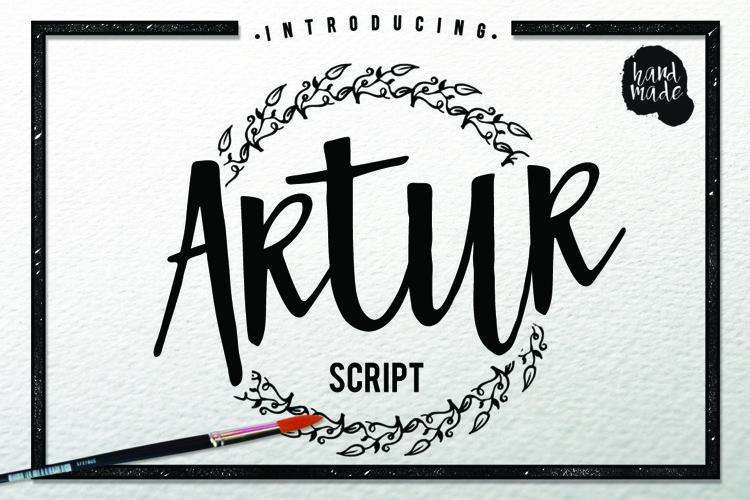 Web Font Artur Script