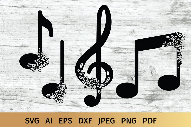 Music Notes SVG | Music SVG