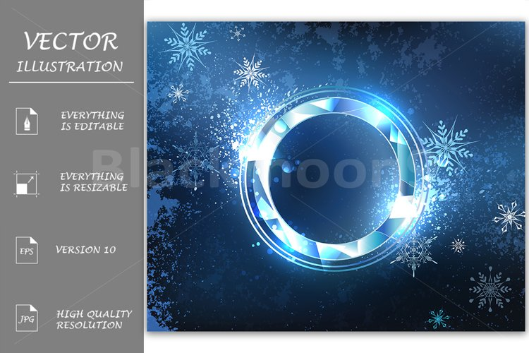 Round Frost Banner example image 1