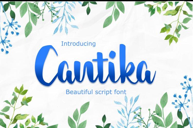 Cantika