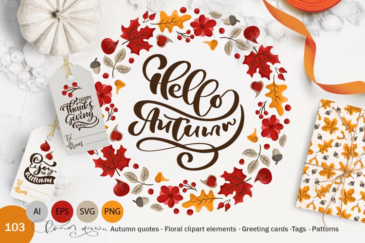 Hello Autumn example image 1
