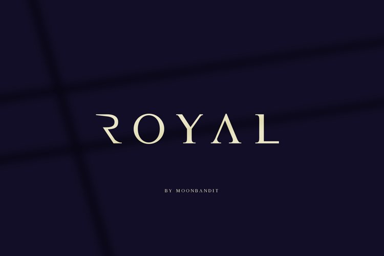 Royal - An elegant luxurious font example image 1