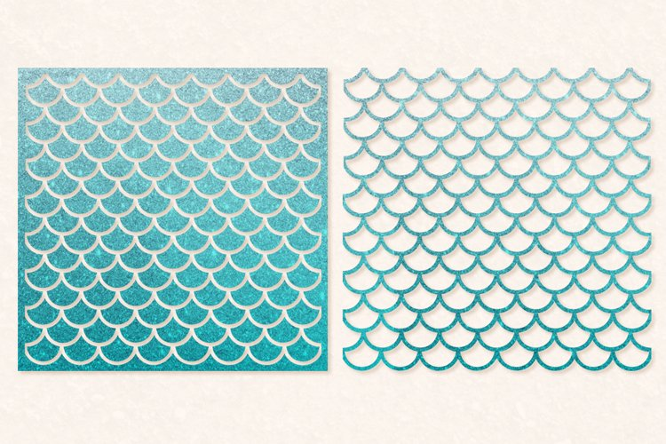 Mermaid Scales SVG | Mermaid Scales for Cameo & Cricut