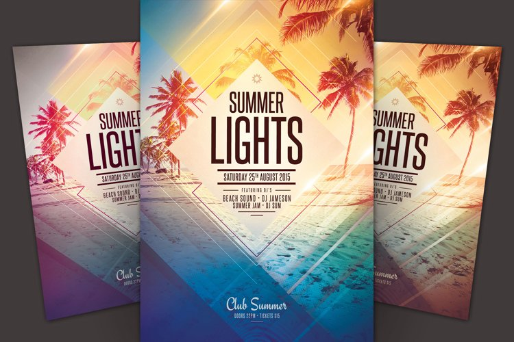 Summer Lights Flyer example image 1