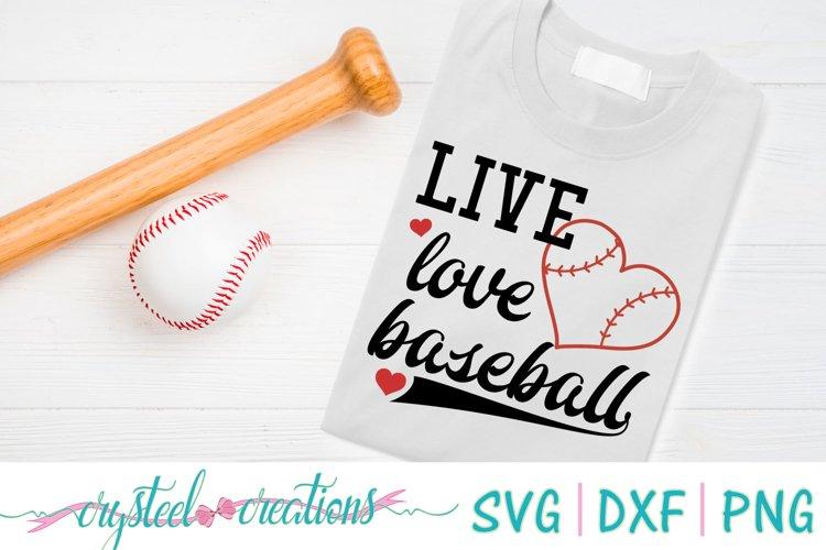 Live Love Baseball example image 1
