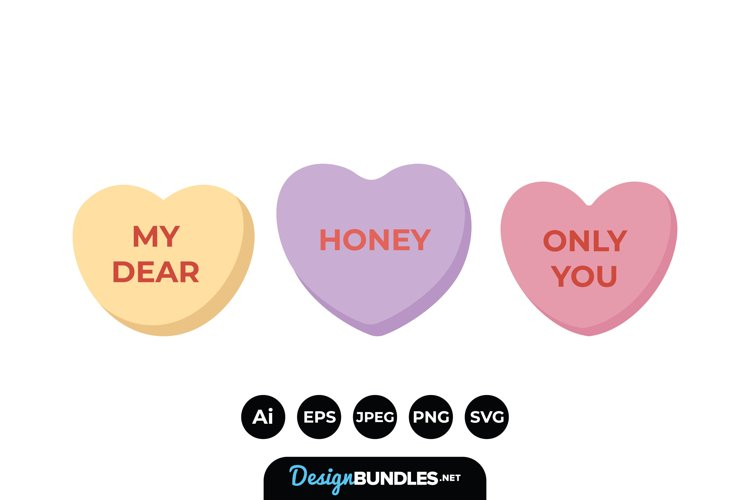 Valentines Candy Heart example image 1