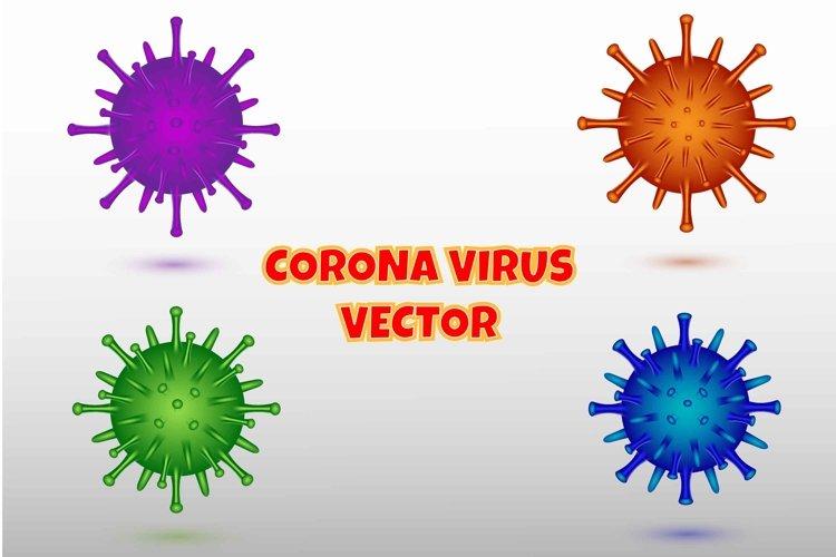 Corona Virus 3D Style Illustration example image 1