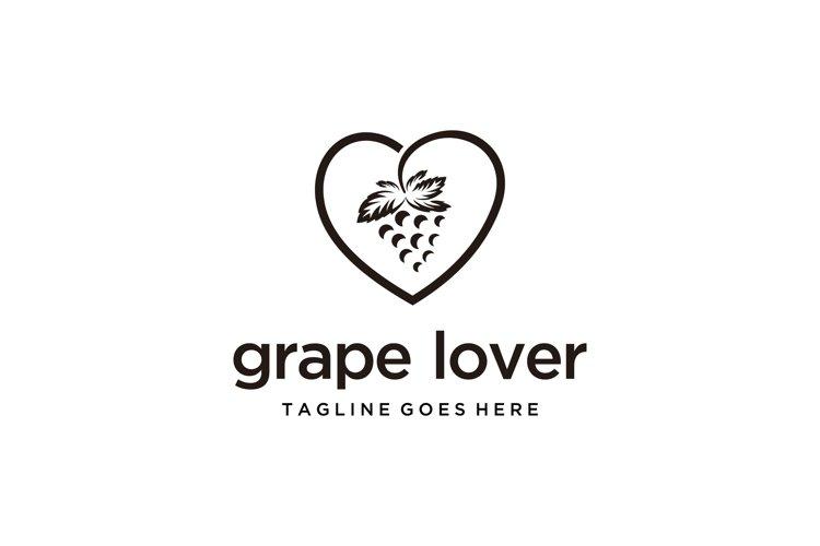 love grapes logo example image 1