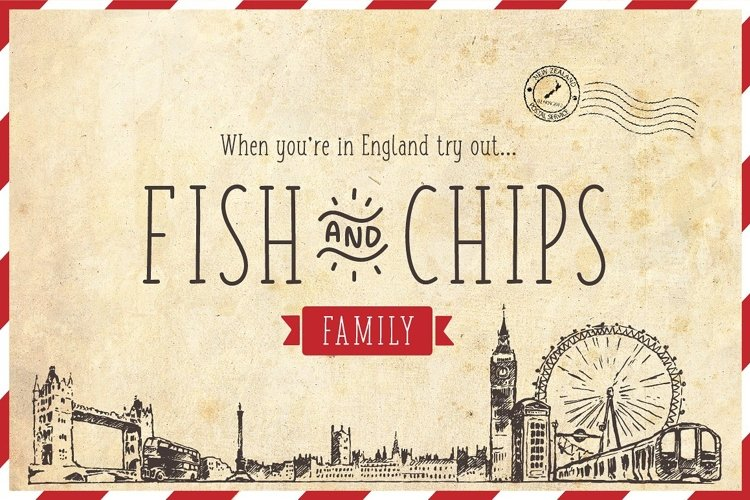 Fish and Chips Family example image 1