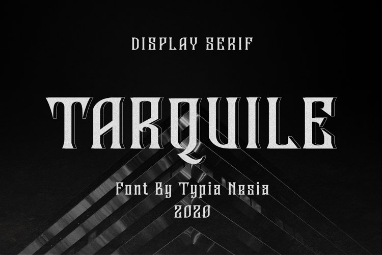 Tarquile Game Font example image 1