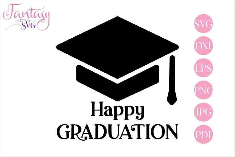 Happy graduation - svg cut file