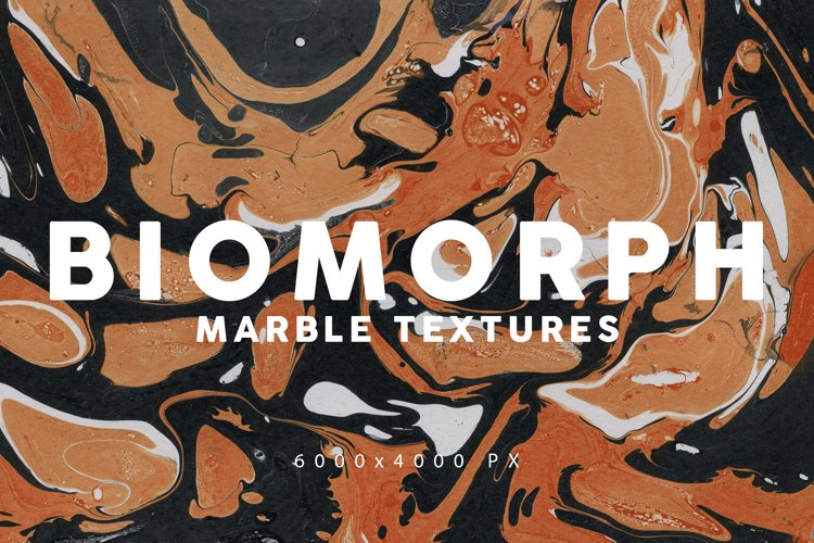 Biomorphic Marble Backgrounds 1 example image 1