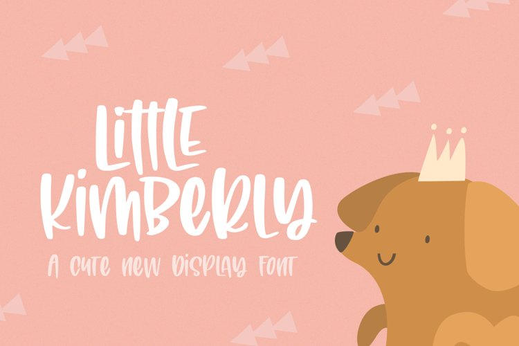 Little Kimberly Font example image 1
