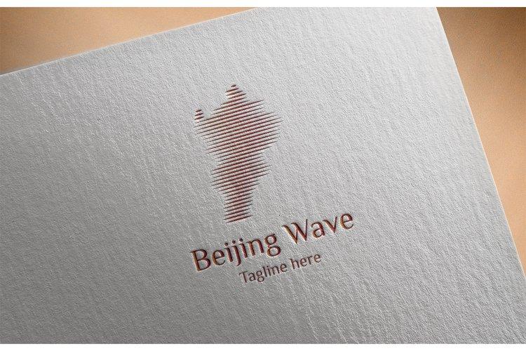 Beijing Wave Logo example image 1