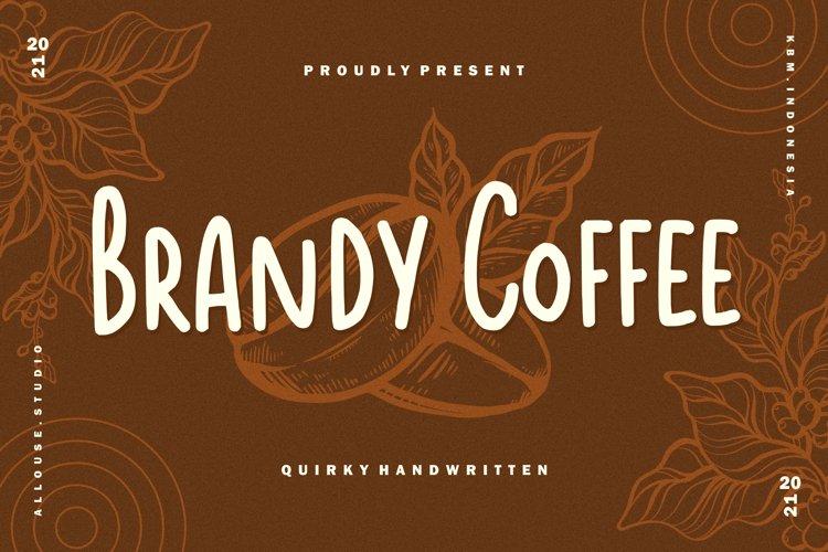 Web Font - Brandy Coffee example image 1