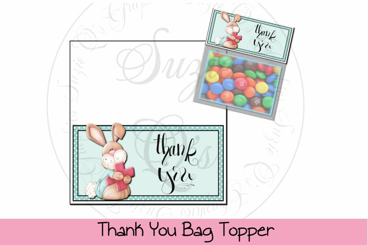 Thank You Bag Topper example image 1