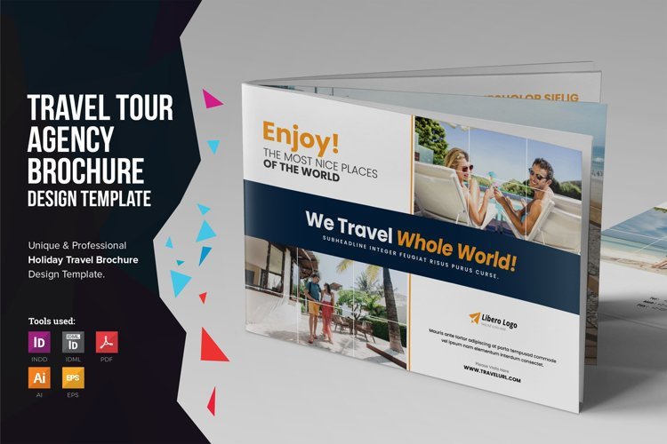 Holiday Travel Brochure Catalog Design v4 example image 1
