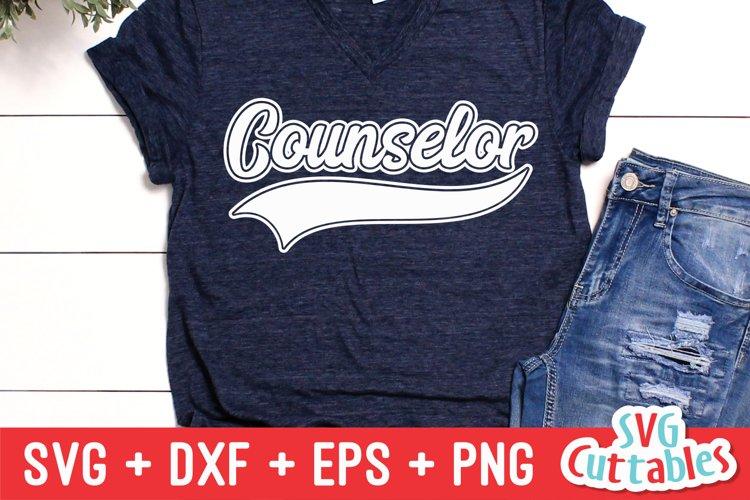 Counselor SVG   Shirt Design