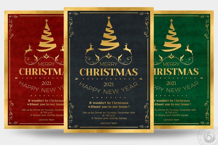 Christmas Invitation Template V1 example image 1
