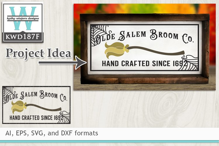 Halloween SVG - Olde Salem Broom Co