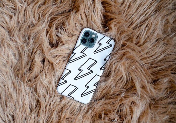 iPhone Case SVG Design Bundle, iPhone 12 Pro Template SVG example 9