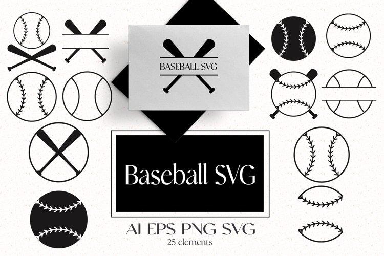 Baseball SVG example image 1