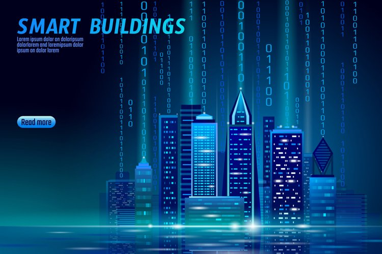 City Urban Technology Landscape 3D