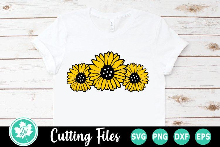 Sunflowers - A Summer SVG Cut File